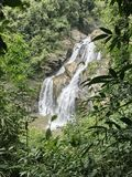 Krung Ching waterfall in Thailand. Royalty Free Stock Photography