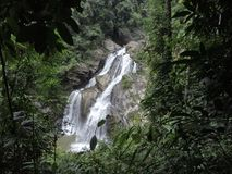 Krung Ching waterfall in Thailand. Royalty Free Stock Photo