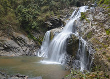 Krung ching waterfalls. Krung ching are big and beautiful waterfalls in thailand Stock Photography
