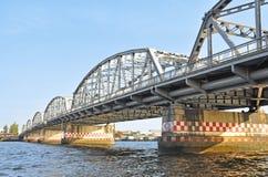 Krung Thon桥梁 免版税库存图片