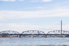 Krung Thon Bridge Royalty Free Stock Image
