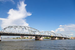 Krung Thon Bridge Royalty Free Stock Photo