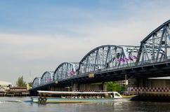 Krung Thon Bridge (Zanghi), Bangkok Thailand Royalty Free Stock Photography