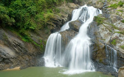 Krungching waterfall. Royalty Free Stock Photo