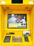 Krungsri ATM machine. BANGKOK, THAILAND - OCTOBER 07, 2016: Closeup Krungsri ATM (Automatic Teller Machine) machine royalty free stock images