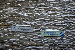 Krupà ³ wek Fotografia Stock