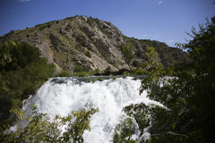 Krupa河峡谷 库存照片