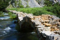 Krupa河峡谷 免版税库存图片