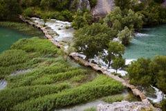 Krupa河峡谷 免版税图库摄影