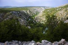 Krupa河风景 免版税库存照片