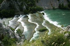 Krupa河风景 免版税图库摄影
