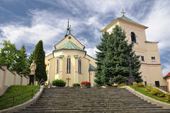 Krupina Roman Catholic Church Stock Photo