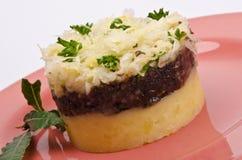 Krupniok traditional blood sausage Royalty Free Stock Images