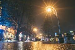 Krupowki street, Zakopane, Poland Stock Photography