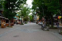 Krupowki street in Zakopane in Poland Stock Photo