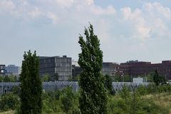 Krupp högkvarter på horisonten Royaltyfri Foto