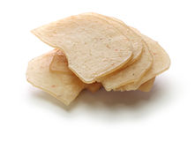 Krupuk udang, prawn crackers Royalty Free Stock Images