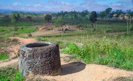 Krus av Laos Royaltyfri Foto