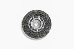 Krusad trådbänkmolar Wheels, bunt av slipande skivor för M Royaltyfri Fotografi
