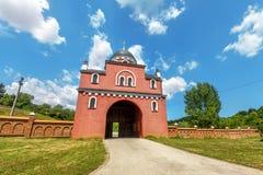 Krusedol kloster, Fruska Gora National Park, Serbien Arkivfoto