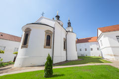 Krusedol Monastery. Serb Orthodox monastery on the Fruška Gora mountain in the northern Serbia, in the province of Vojvodina. It was built between 1509 and 1514 Stock Image