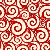 Kräuseln Sie nahtloses Muster Lizenzfreie Stockbilder