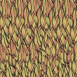 Kräuselt nahtloses Muster Stockfoto