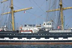 Krusenstern ship - crew members Stock Photos
