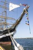 Krusenstern ship at harbor in Tallinn, Estonia Royalty Free Stock Photo