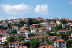 Krusevo, city in Macedonia. Krusevo, tourist town in Macedonia Stock Photo