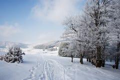 krushevo krajobrazowy Macedonia zdjęcia stock