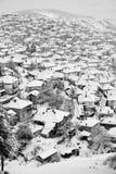 Krushevo, Macedonia, in winter Stock Images