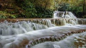 krushuna保加利亚瀑布  库存图片