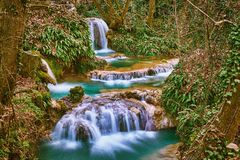 Krushuna Falls, Bulgaria Royalty Free Stock Images