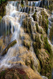 The Krushuna's waterfalls. The longest waterfalls cascade on Balkan peninsula Stock Images
