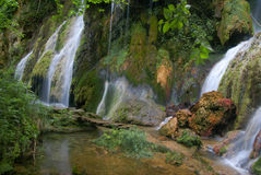 The Krushuna's waterfalls. The longest waterfalls cascade on Balkan peninsula Stock Photos