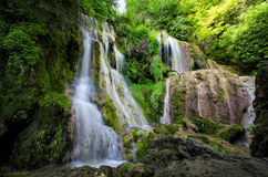 Krushuna vattenfall 2 Arkivfoto