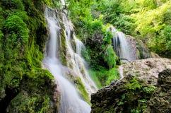 Krushuna-Wasserfälle stockbild