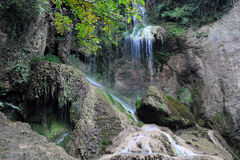 Krushuna Waterfalls in Bulgaria Stock Photo
