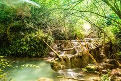 Krushunski vodopadi, Bulgarien Arkivfoto