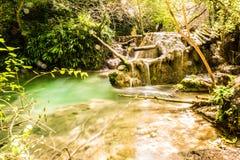 Krushunski vodopadi, Bulgarien Royaltyfri Fotografi