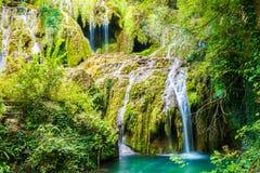 Krushunski vodopadi, Bulgarien Arkivbilder