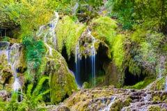 Krushunski vodopadi, Bulgarien Royaltyfri Bild