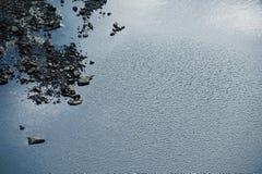 krusig flod Royaltyfria Bilder