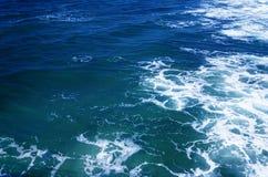 Krusigt havvatten Royaltyfri Bild