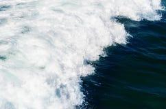 Krusigt havvatten Fotografering för Bildbyråer