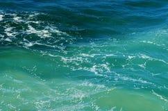 Krusigt havvatten Arkivfoton