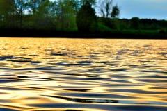 Krusigt vatten Royaltyfria Bilder