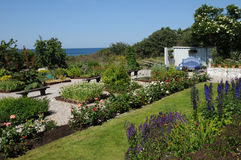 Krusmyntagarden in Gotland Royalty Free Stock Images