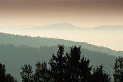 Krusne hory, CZ, UE Imagens de Stock